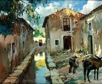 calle de pueblo by rigoberto soler [perez]